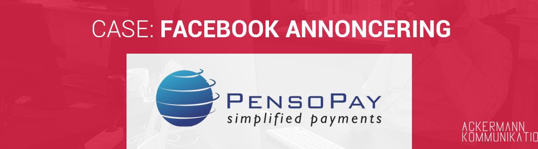 Sådan fordoblede vi PensoPays salg med Facebook-annoncering