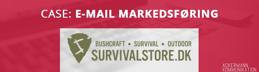 Sådan omsatte Survivalstore.dk for 16 kroner pr. e-mail – helt automatisk!