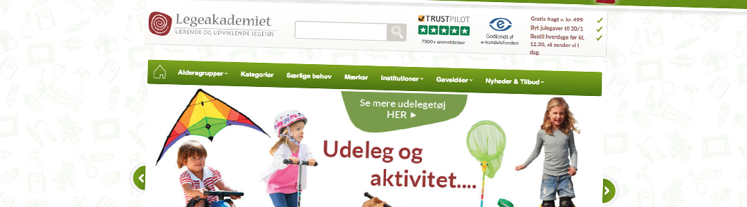 652 % ROI med e-mail marketing for legetøjs-webshop